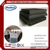 El panel acústico suspendido fibra mineral material decorativa
