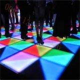 Bewegliche LED Dance Floor DMX RGB Tanzen-Fliese des Hochzeitsfest-