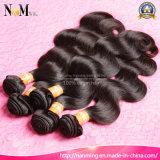 Da extensão barata brasileira do cabelo humano da onda do corpo do cabelo de Aliexpress cabelo por atacado não processado do brasileiro do Virgin