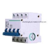Mini corta-circuito, 4p 50A 63A MCB, 4.5ka, 6ka (DZ47-63)