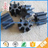 Impulsor abierto del caucho de la rueda de paleta de las piezas de la bomba del OEM NR para el contador del agua