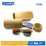 Lunettes de soleil en bambou en bois faites main normales polarisées avec la marque de client