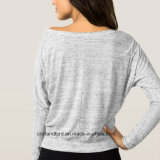 Scoop-Neck hors de l'épaule Fashion femmes T- shirt