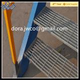 Galvanizado antideslizamiento escalera Nosing abrasivos