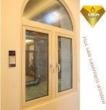 Portello e finestra di alluminio curvi rottura termica di vetro del doppio della fabbrica di Foshan