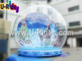 bille gonflable de Noël de globe de neige de bille de neige