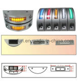 Solar Road Cat Eyes LED Flashing Light / Road Reflector