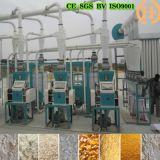 말라위 케냐 30t 옥수수 가는 선반 옥수수 제분기 기계