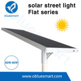 60W 9000lm druckgießensolarstraßenlaternedes aluminium-LED