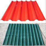 Telha usada Rússia de alumínio da folha da telhadura da telha do metal que faz a máquina