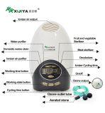 Novo Estilo de purificador de ar ajustáveis e gerador de ozono para uso doméstico