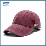 Denim-Stickerei-Baseball-Hut-kundenspezifische Hysteresen-Schutzkappe