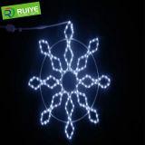 LED de Natal Motif Natal Luzes do floco de neve iluminado