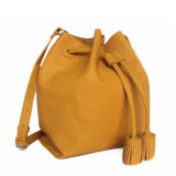 Yc-H156 de beroemde Trendy Kiezelsteen Van uitstekende kwaliteit Pu van het Ontwerp Dame Drawstring Shoulder Bag voor 2019
