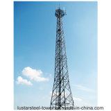 Tour autosuffisante d'abri de télécommunications de l'acier 80m