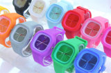 Вахта Relogio кварца wristwatch женщин спортов аналога кварца геля студня силиконовой резины способа Yxl-977 2016 Unisex