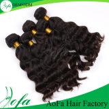 Trama brasileira do cabelo da onda do cabelo humano de 100%