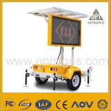 Vms 호박색 태양 LED 가벼운 도로 안전 표시 트레일러