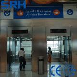 観察のエレベーターまたは乗客のエレベーターの乗客の上昇かエレベーターの上昇