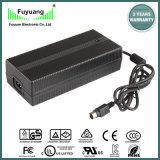 carregador de bateria de 42V 5A para a bateria de lítio