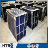 Preheater de ar de giro personalizado do tamanho com elementos de aquecimento quentes da extremidade