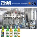 Equipamento automático de engarrafamento de cerveja 3 em 1 para garrafa de vidro e boné de coroa