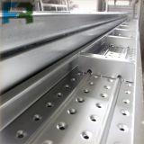 Prancha de aço da plataforma do metal do andaime 250*50 para a construção