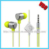 熱い販売法新しいデザイン金属のイヤホーン(10A53IP)
