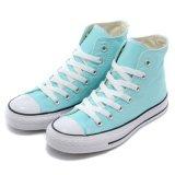 Затавренные вскользь ботинки на Loafers холстины самого низкого цены для женщин