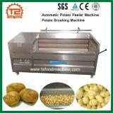 Batata 기계 온라인 자동적인 감자 Peeler 기계 감자 솔질 기계