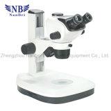 Equipamento de laboratório Zoom Microscópio digital estéreo
