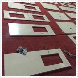 Parte superior e bancada da vaidade do mármore do branco chinês para o gabinete