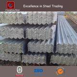 Q345b Angles d'acier de revêtement en zinc de forme égale / L