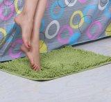 Пушистый Shaggy Chenille без пробуксовки напольный коврик с одной спальней