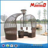 Роскошное Furniture Sofa Bed Rattan Daybed с Canopy
