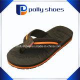 Il nero dei sandali di caduta di vibrazione della cinghia di Nubuck del Vegan del Mens di latitudine