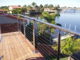 Commerial Customised Cable Railing con Wire Guardrail