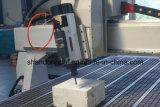 Eje 4 máquina CNC con cambiador Auto-Tool lineal para la fabricación de muebles por
