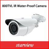 800tvl Camera van de Veiligheid van de Kogel van kabeltelevisie van IRL de Waterdichte (W16)
