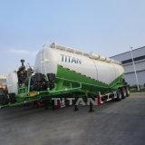 대량 반 시멘트 유조선 부피 시멘트 탱크 트레일러 판매를 위한 대량 시멘트 유조선