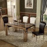 Tableau dinant d'or de marbre de meubles de pièce à la maison premier