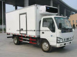 6 тонн еды освежают тележку грузовика тележки перехода Refrigerated Isuzu