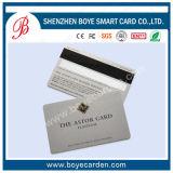 Unbelegtes Chip Belüftung-Cr80 und Pin-Chipkarte