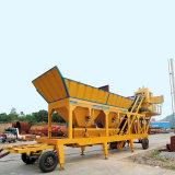 Meilleure vente Mobile25m3/H Logiciel pour Mix Concrete Batching usine de mélange (YHZS25) pour la vente d'étalonnage de schéma