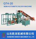 Qt4-20 bloc de béton hydraulique automatique& Finisseur Prix machine à briques