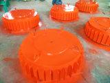Séparateur électromagnétique de minerai de la suspension Rbcdb-10 approuvée d'OIN pour le convoyeur à bande