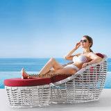 最も売れ行きの良く新しいデザインテラスの庭の余暇の家具はPE藤の&Aluminum (YT631)とセットした