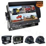 De getelegrafeerde 7-duim Uitrusting van de Camera van de Auto HD van de Vierling IP69K Rearview