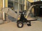 2018 Gas-Powered máquina biotrituradora Shredder máquina cortadora de madera para la venta, Jardín Shredder