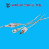 직업 기술은 2-12 Pin DC 연결관 플러그를 방수 처리한다